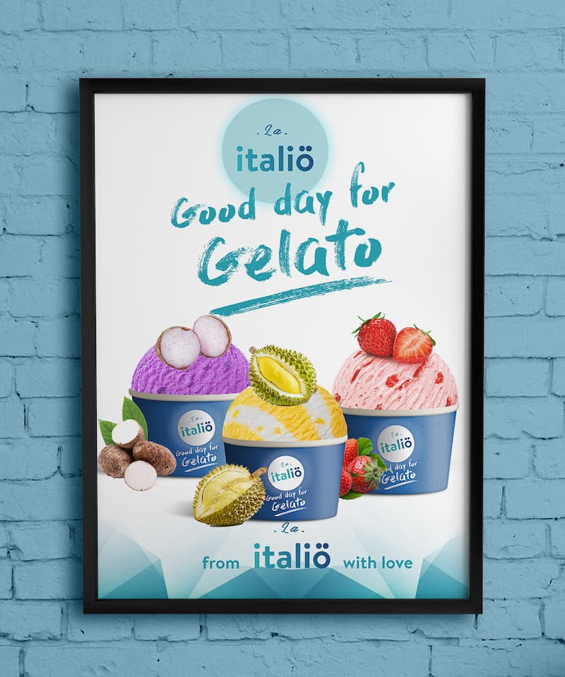 Wall Poster Frame Mockup Free PSD 1 Italio