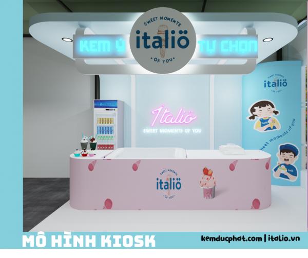 kiosk 5 Italio