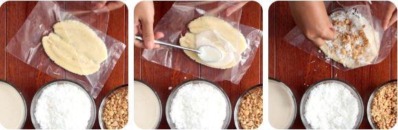 Cách làm kem chuối bịch 4