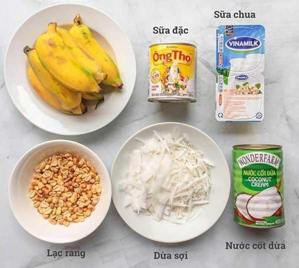 cách làm kem chuối với sữa ông thọ 1