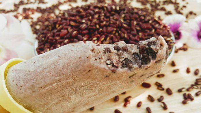 cách làm kem đậu đỏ