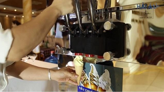 giá máy làm kem tươi 1