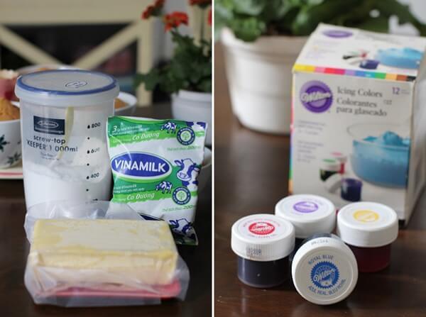 cách làm kem phủ bánh gato 6