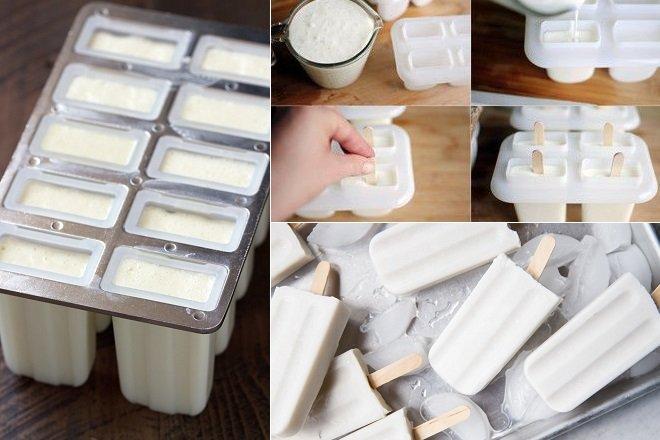 cách làm kem sữa dừa tràng tiền 4