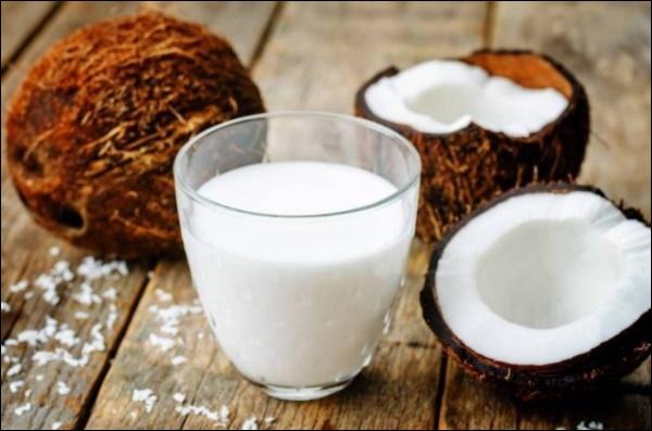 cách làm kem sữa dừa tràng tiền 1